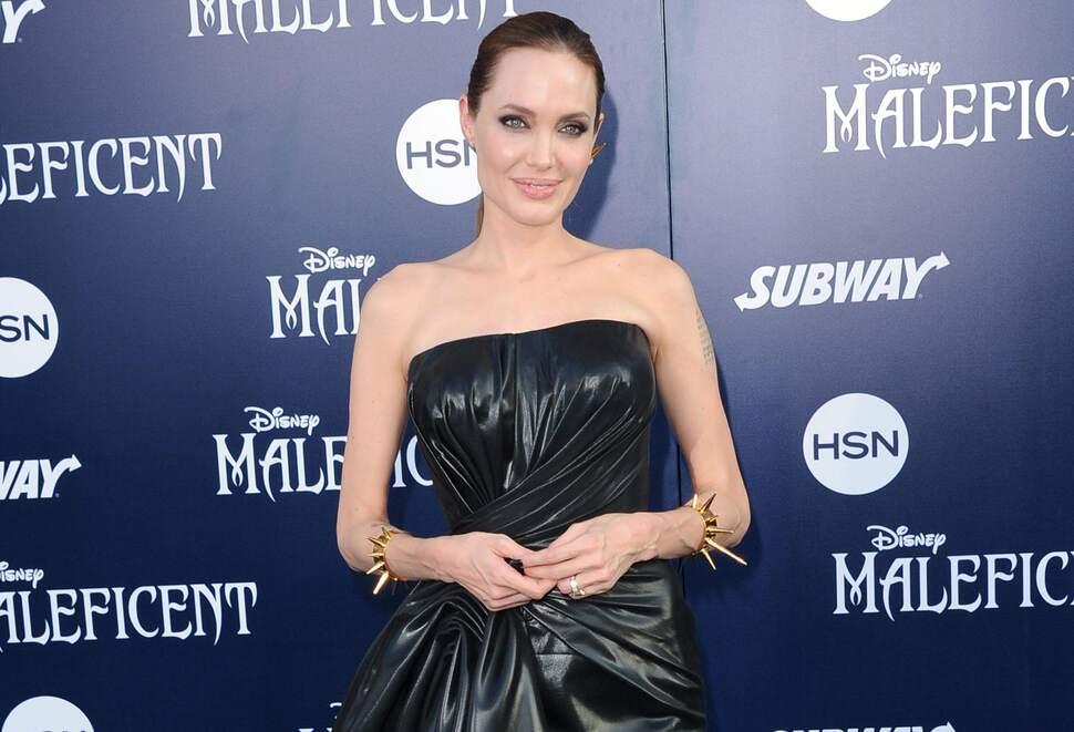 Анджелина Джоли почти ничего не ела на съемках «Несломленного»