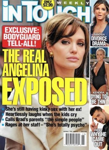 Бывший телохранитель Анджелины Джоли заявляет что она «эгоцентричная психопатка»