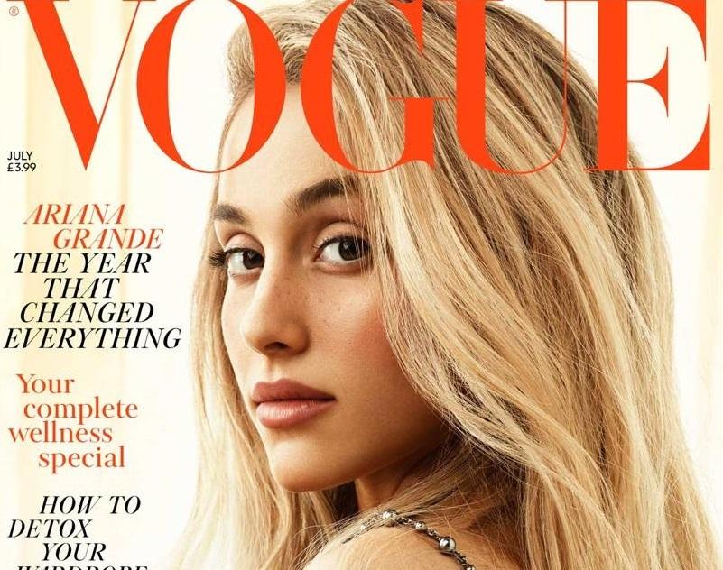 Почти неузнаваемая Ариана Гранде снялась для обложки Vogue