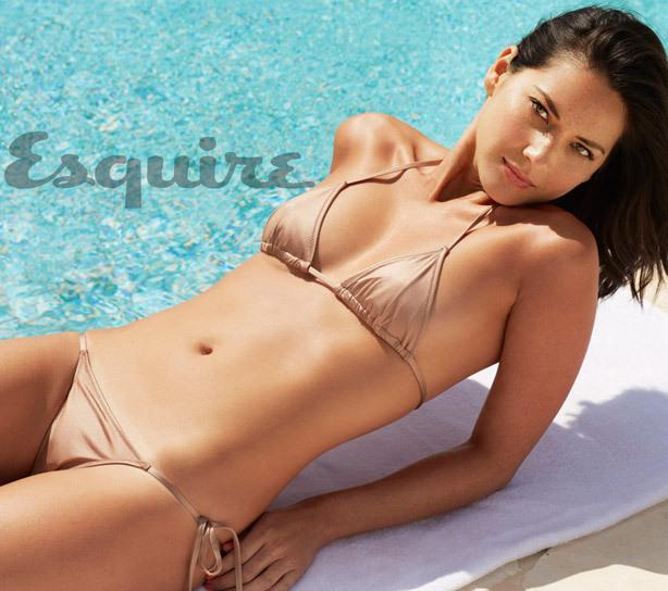 Оливия Манн в журнале Esquire. Июнь / июль 2013