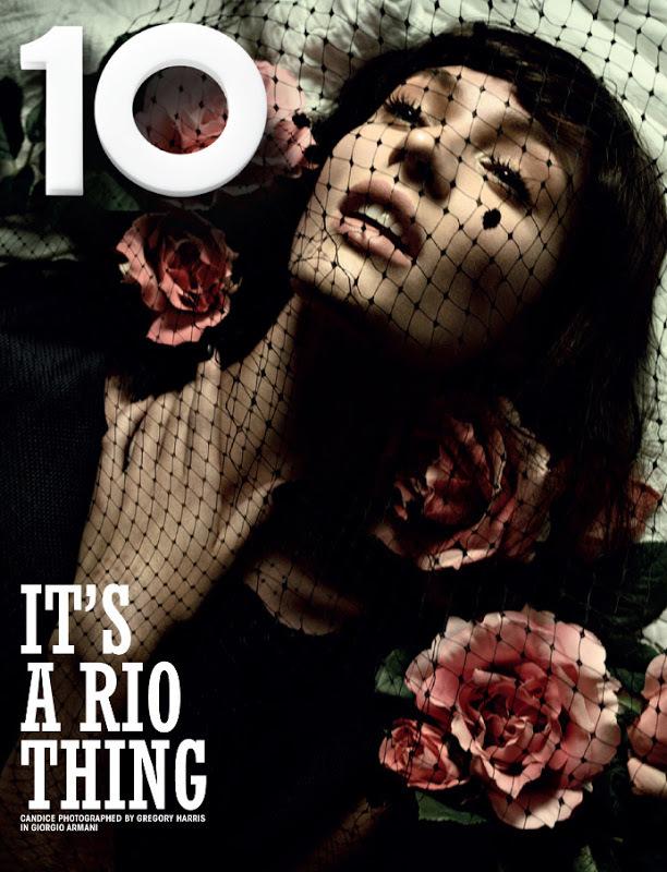 Кэндис Свейнпол в журнале 10 Magazine. Весна 2013