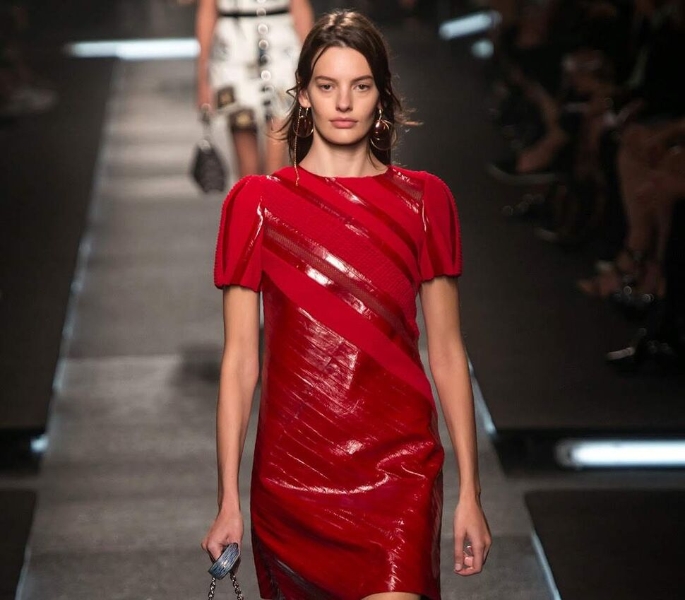 Модный показ новой коллекции Louis Vuitton. Весна / лето 2015