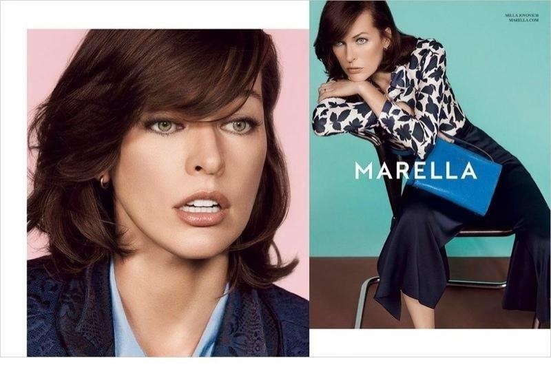 Милла Йовович в новой рекламной кампании Marella. Весна 2015