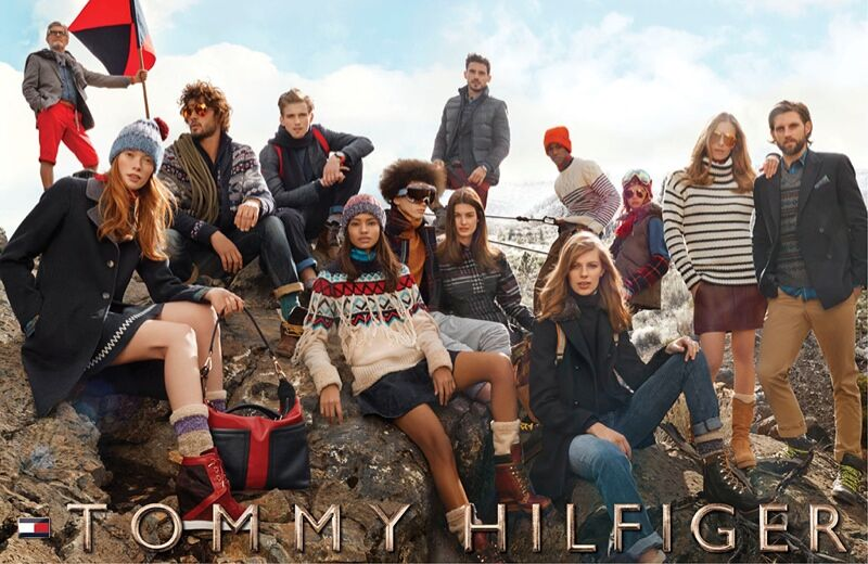 Рекламная кампания Tommy Hilfiger Осень / Зима 2015