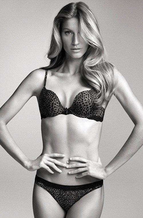 Жизель Бундхен в рекламной кампании белья Brazilian Intimates
