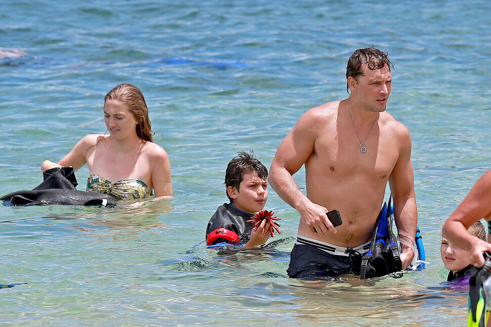 Питер Фачинелли отдыхает на Гавайях