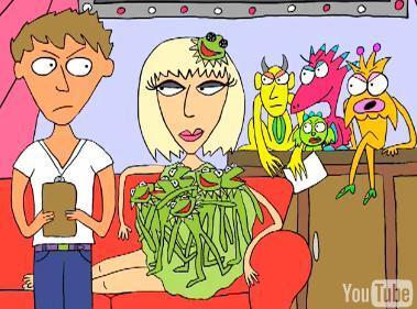 Видео: Lady GaGa и ее монстры