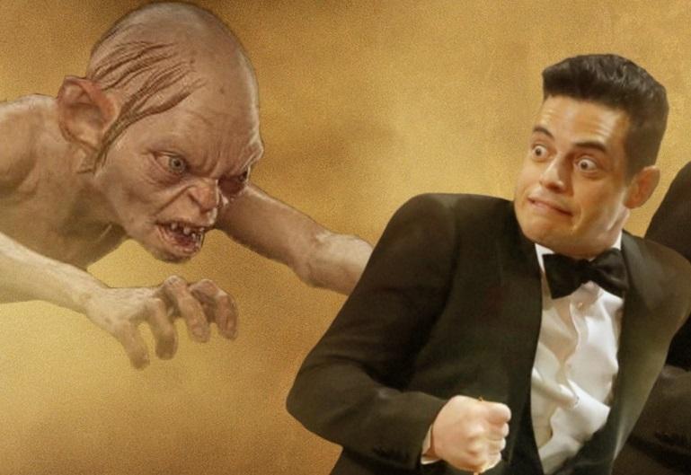 Фото: упавший со сцены Рами Малек стал самым смешным мемом «Оскара»