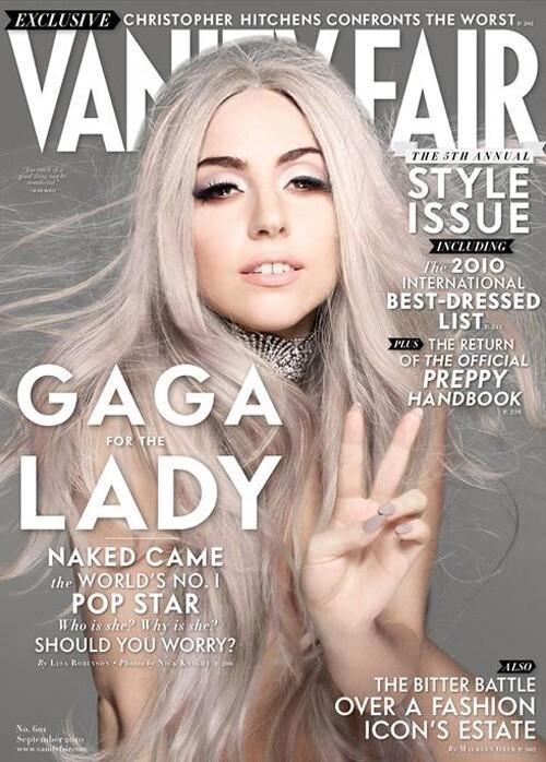 Lady Gaga в журнале Vanity Fair. Сентябрь 2010
