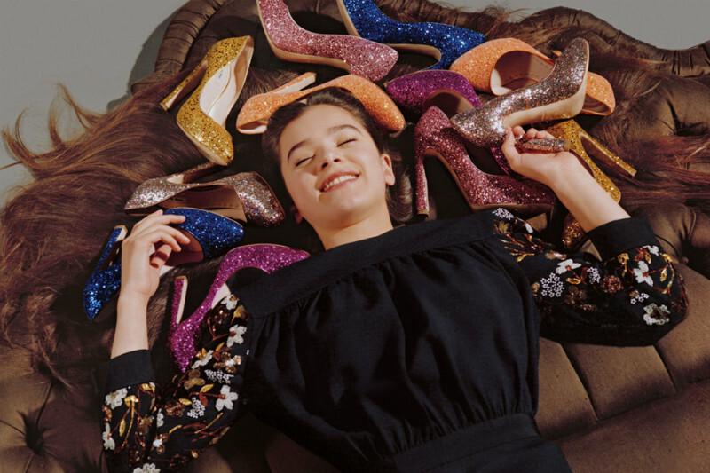 Хейли Стэнфилд для рекламной кампании Miu Miu
