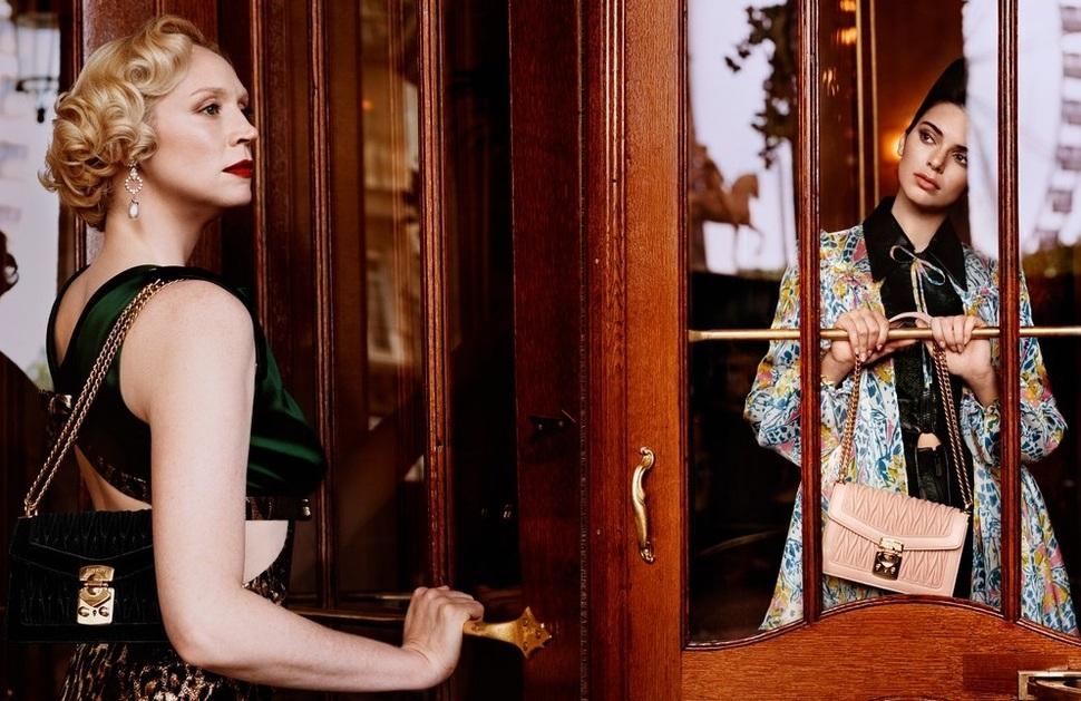Кендалл Дженнер и Гвендолин Кристи снялись в рекламной кампании Miu Miu