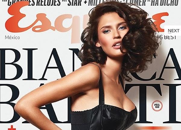 Бьянка Балти в журнале Esquire. Мексика. Ноябрь 2013
