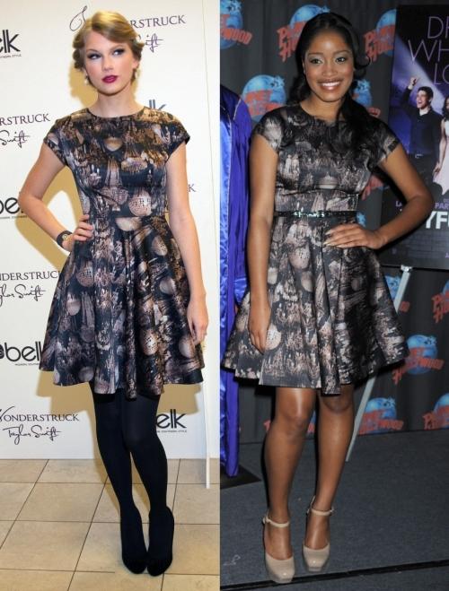 Fashion battle: Тэйлор Свифт и  Кеке Палмер