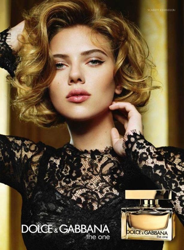 Рекламная кампания нового аромата  Dolce & Gabbana The One Lace Edition