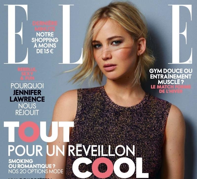 Фото: Дженнифер Лоуренс в фотосессии для французского Elle