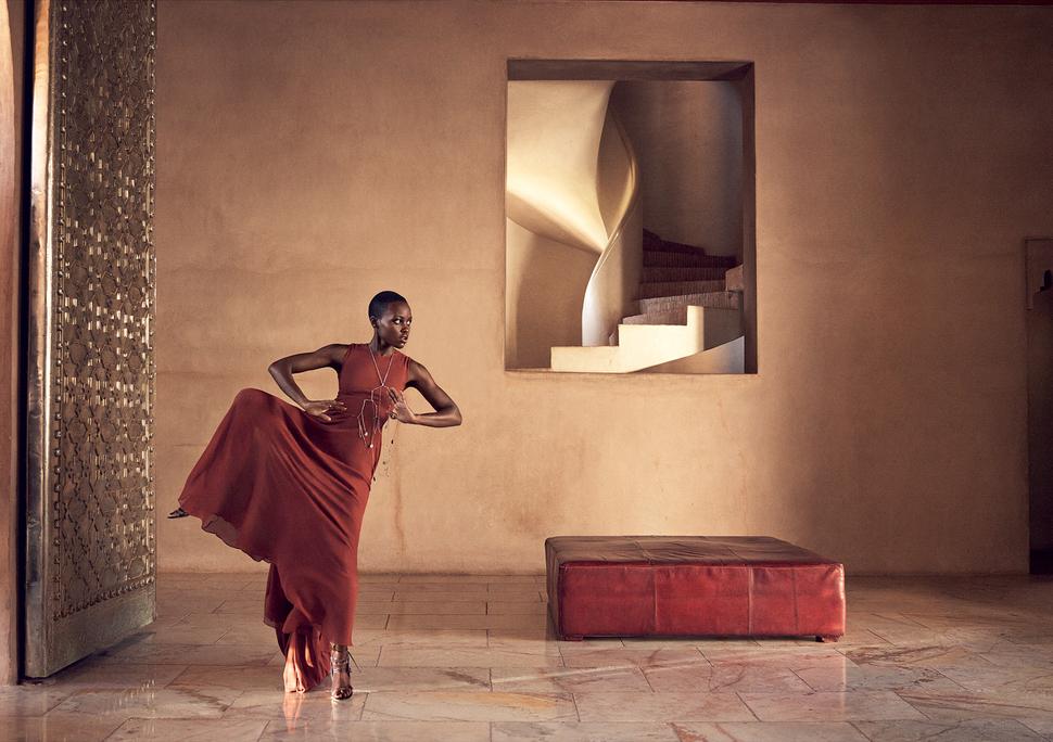 Люпита Нионго в журнале Vogue. Июль 2014