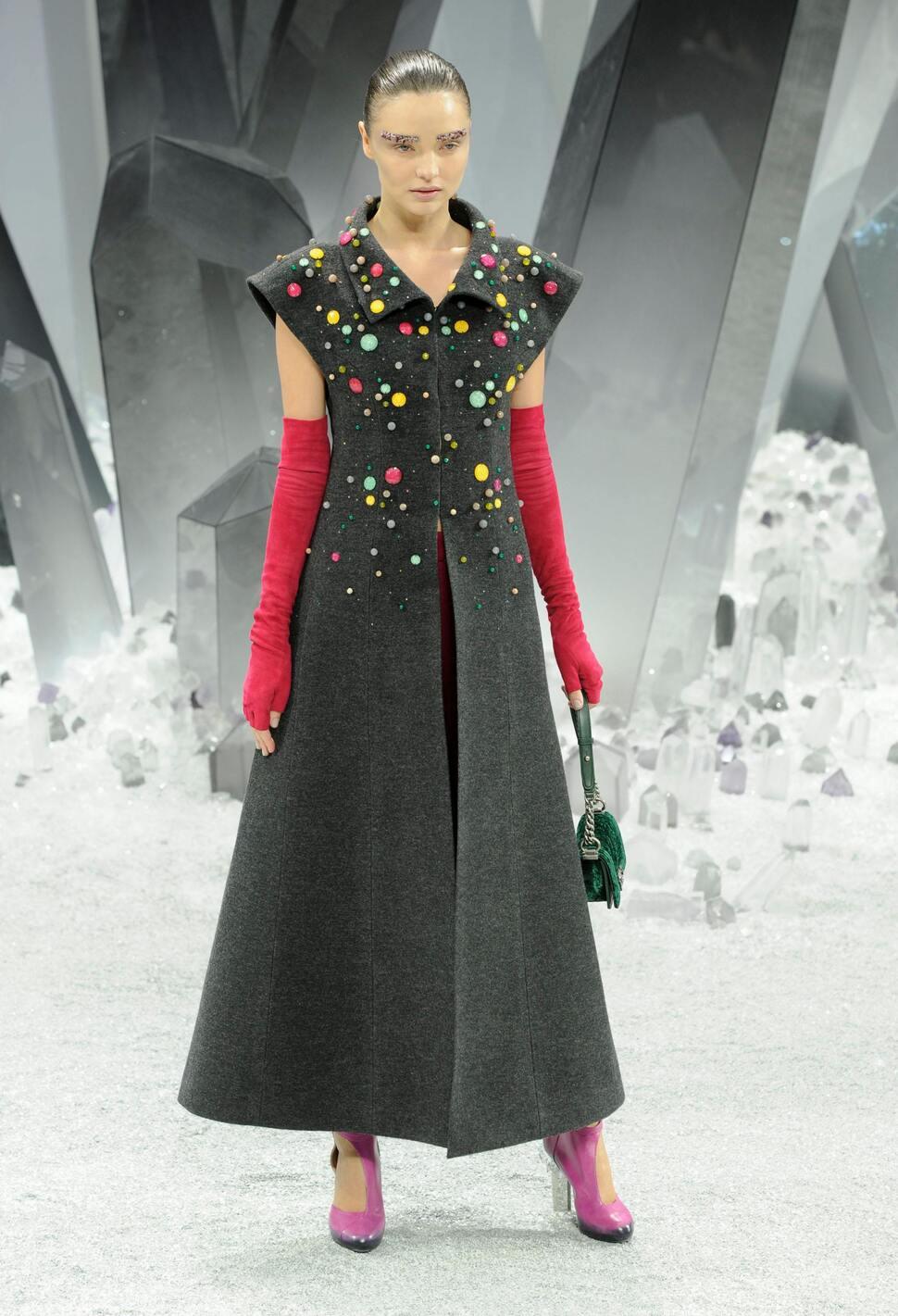 Модный показ Chanel. Осень / зима 2012-2013