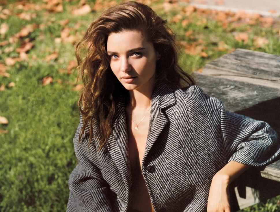 Миранда Керр в журнале Vogue Великобритания. Сентябрь 2013