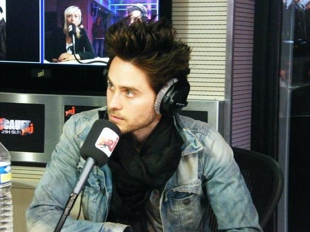 Джаред Лето на радио NRG