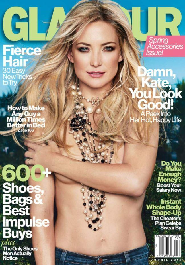 Кейт Хадсон в журнале Glamour. Апрель 2013