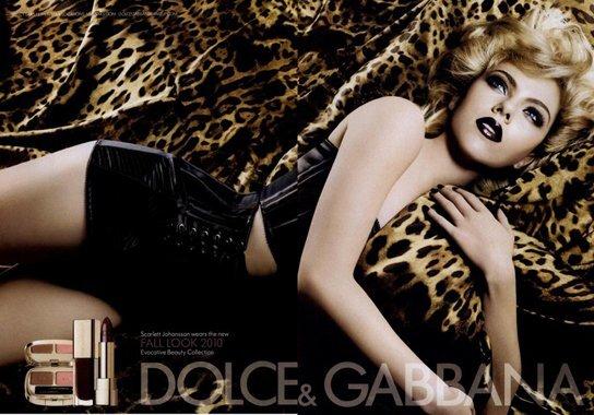 Новый рекламный постер D&G со Скарлетт Йоханссон