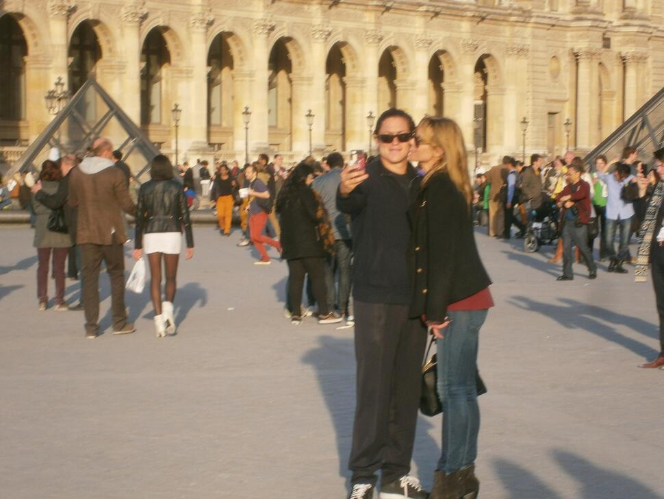 Хайди Клум с новым бойфрендом в Париже