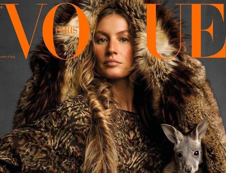 Почти неузнаваемая Жизель Бундхен появилась на обложке Vogue