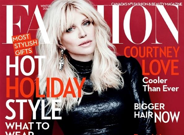 Кортни Лав в журнале  Fashion. Зима 2013