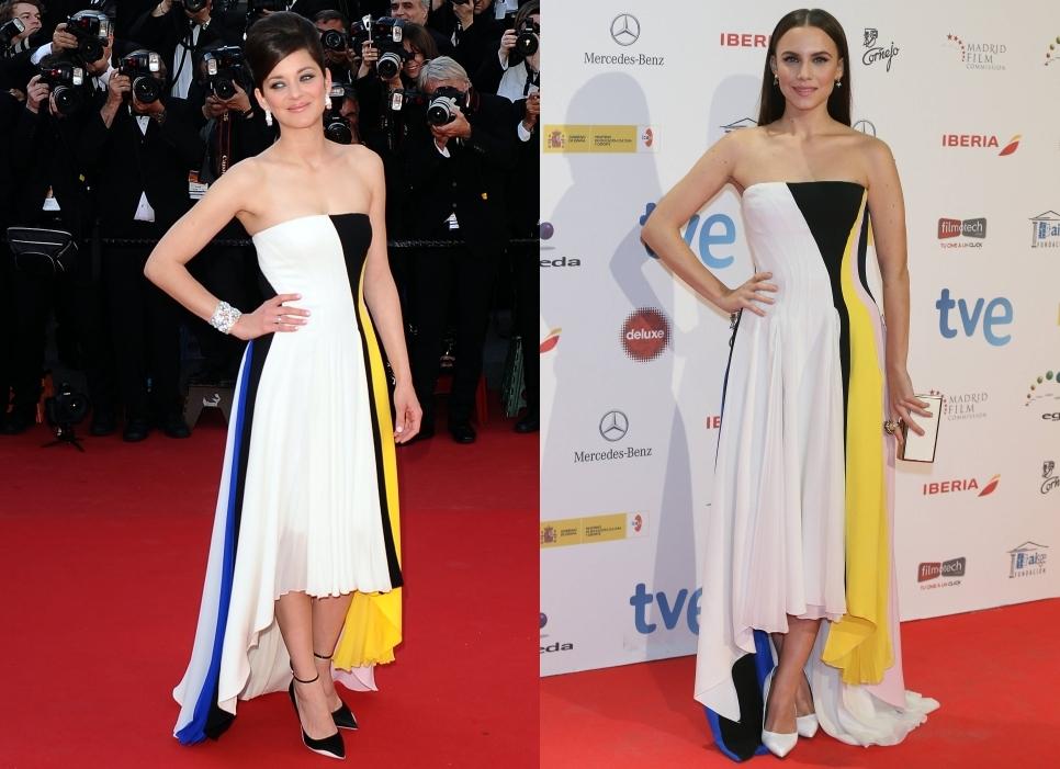 Fashion battle: Марион Котийяр и Аура Гарридо