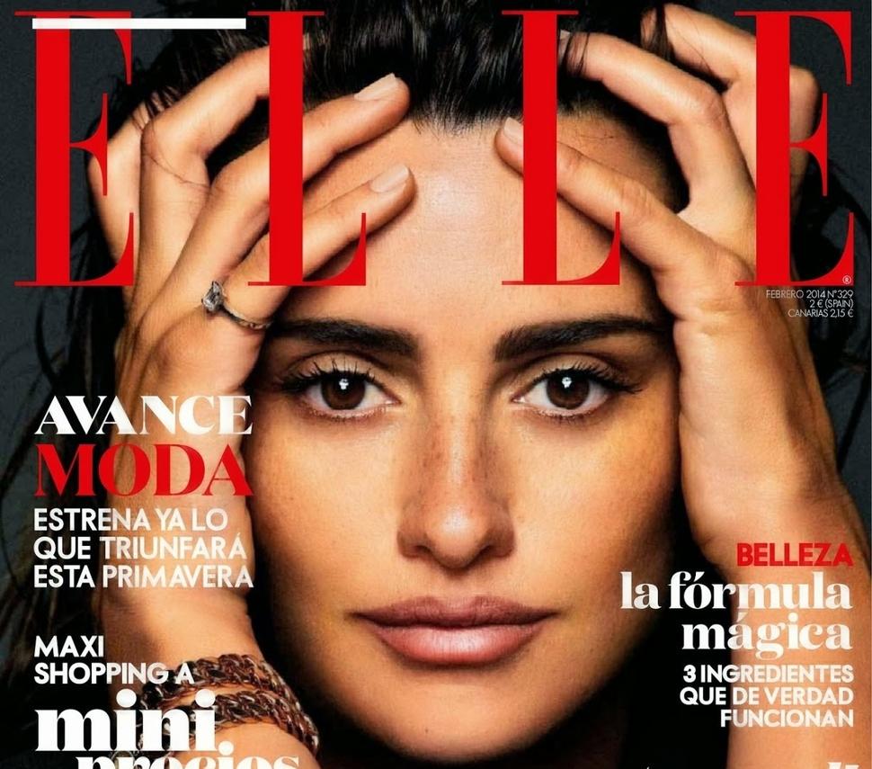 Пенелопа Крус в журнале Elle Испания. Февраль 2014