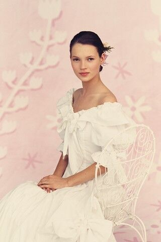 17-летняя Кейт Мосс в журнале Brides. Июль-Август 2011