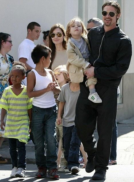 Брэд Питт: Я всегда хотел иметь большую семью