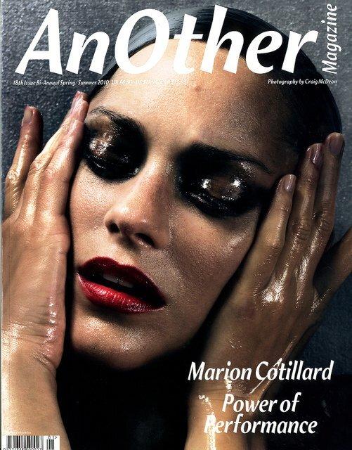 Марион Котийяр в журнале AnOther