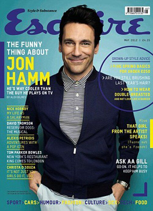 Джон Хэмм в журнале Esquire Великобритания. Май 2012