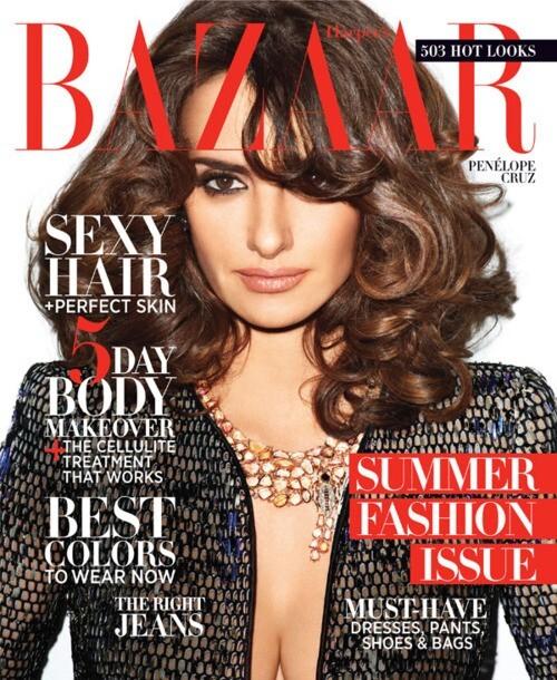 Пенелопа Крус в журнале Harper's Bazaar. Май 2012