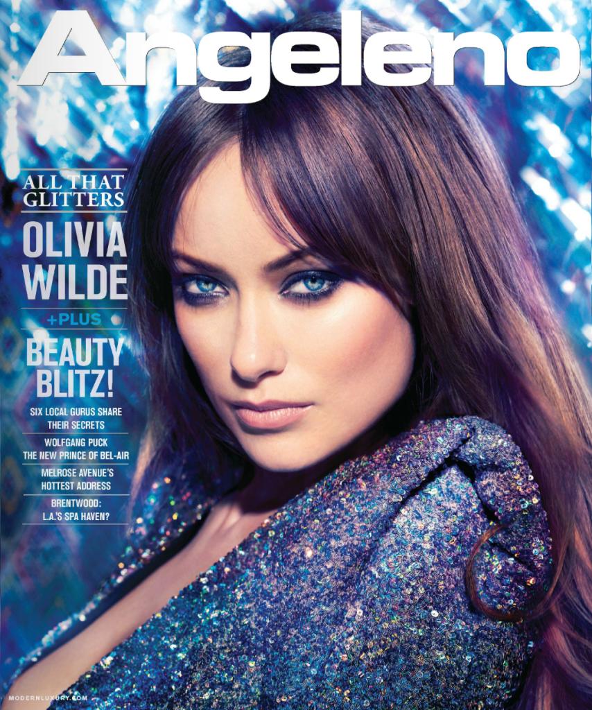 Оливия Уайлд в журнале Angeleno. Февраль 2012