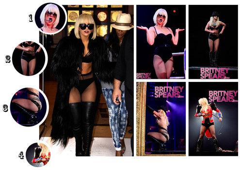 Lady GaGa украла стиль Бритни Спирс?