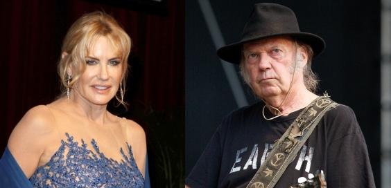 Дэрил Ханна встречается с рок-музыкантом