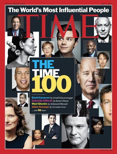 100 самых влиятельных людей по версии The TIME