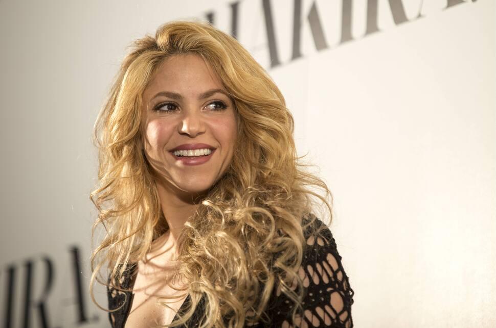 Шакира написала песню для чемпионата мира по футболу