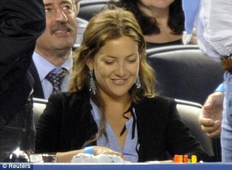 Кейт Хадсон ходит на игры Алекса Родригеса