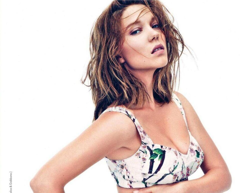 Леа Сейду в журнале Elle Франция. Март 2014