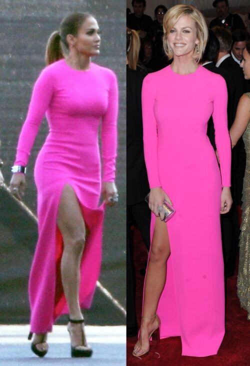 Fashion battle: Дженнифер Лопес и Бруклин Декер