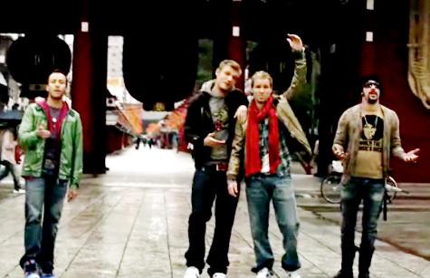 Музыкальное видео Backstreet Boys на песню «Bigger»