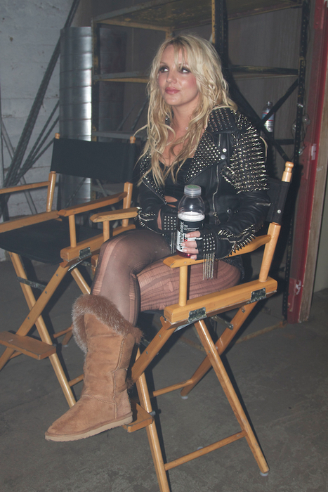 Бритни Спирс готовит новый клип