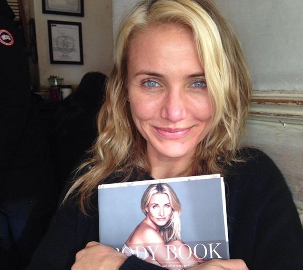 Камерон Диаз выпускает книгу о любви к своему телу