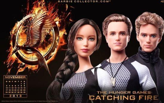 Куклы Барби перевоплотились в героев «Голодных игр»