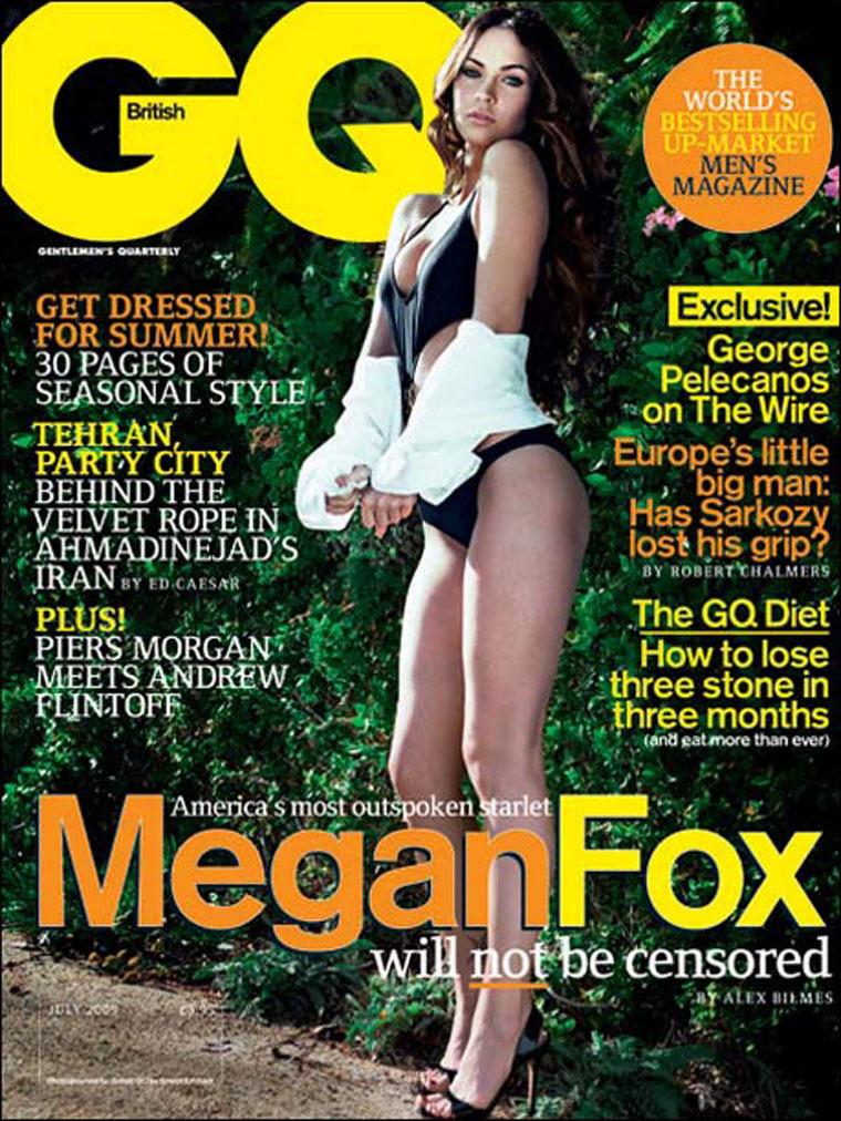 Меган Фокс сравнила актеров с проститутками