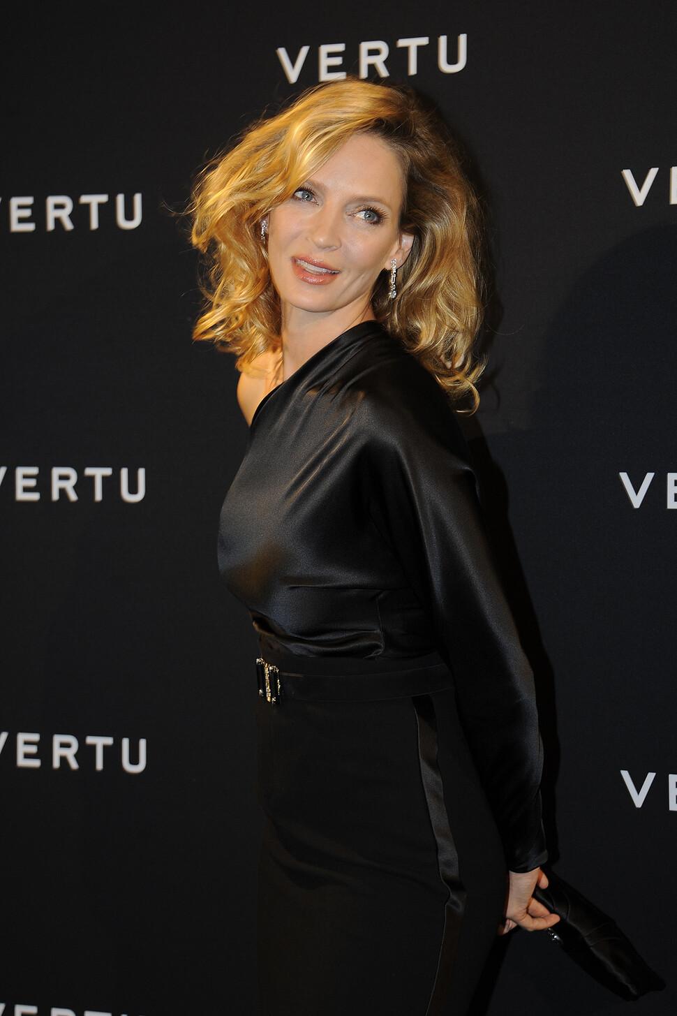 Звезды на презентации нового смартфона Vertu в Милане