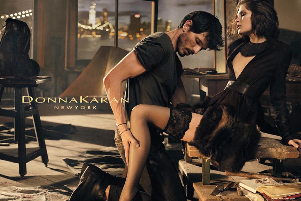 Рекламная кампания Осень / Зима 2014 Donna Karan